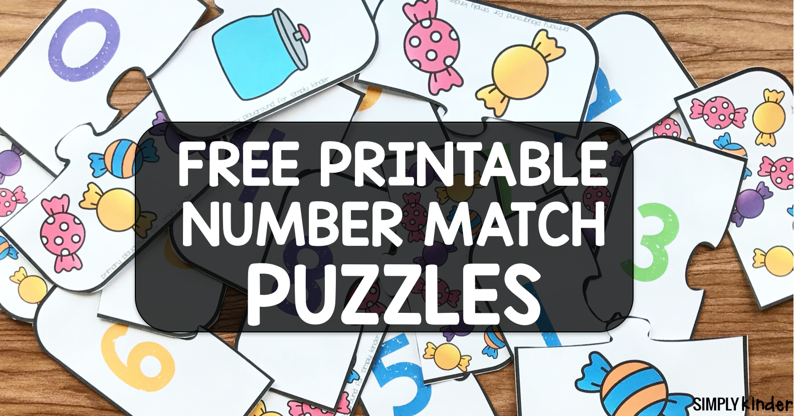 Free Printable Number Match Puzzles