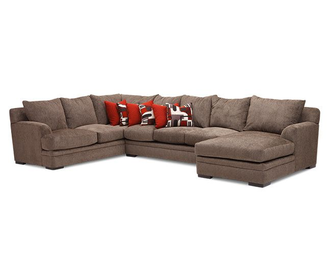 Delightful Alba 3 Pc. Sectional Sofa Mart 1 844 763 6278