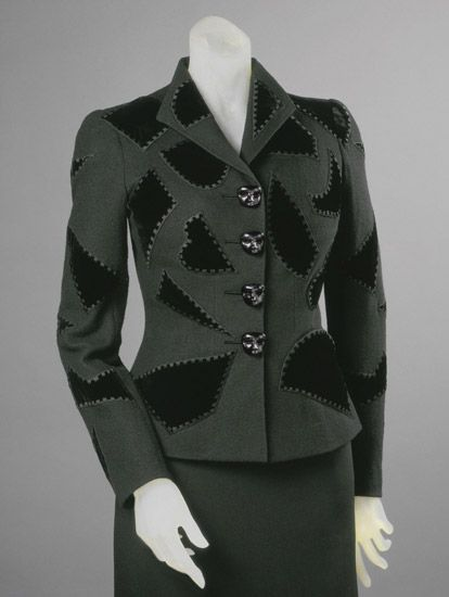 Woman's Dinner Jacket    Made in Paris, France, Europe  Spring 1939