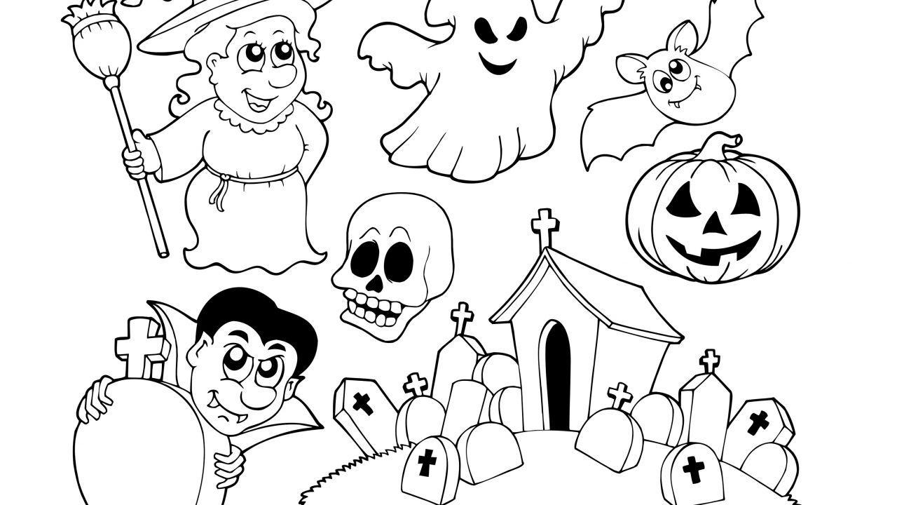 Dibujos de Halloween para colorear   halloween   Pinterest ...