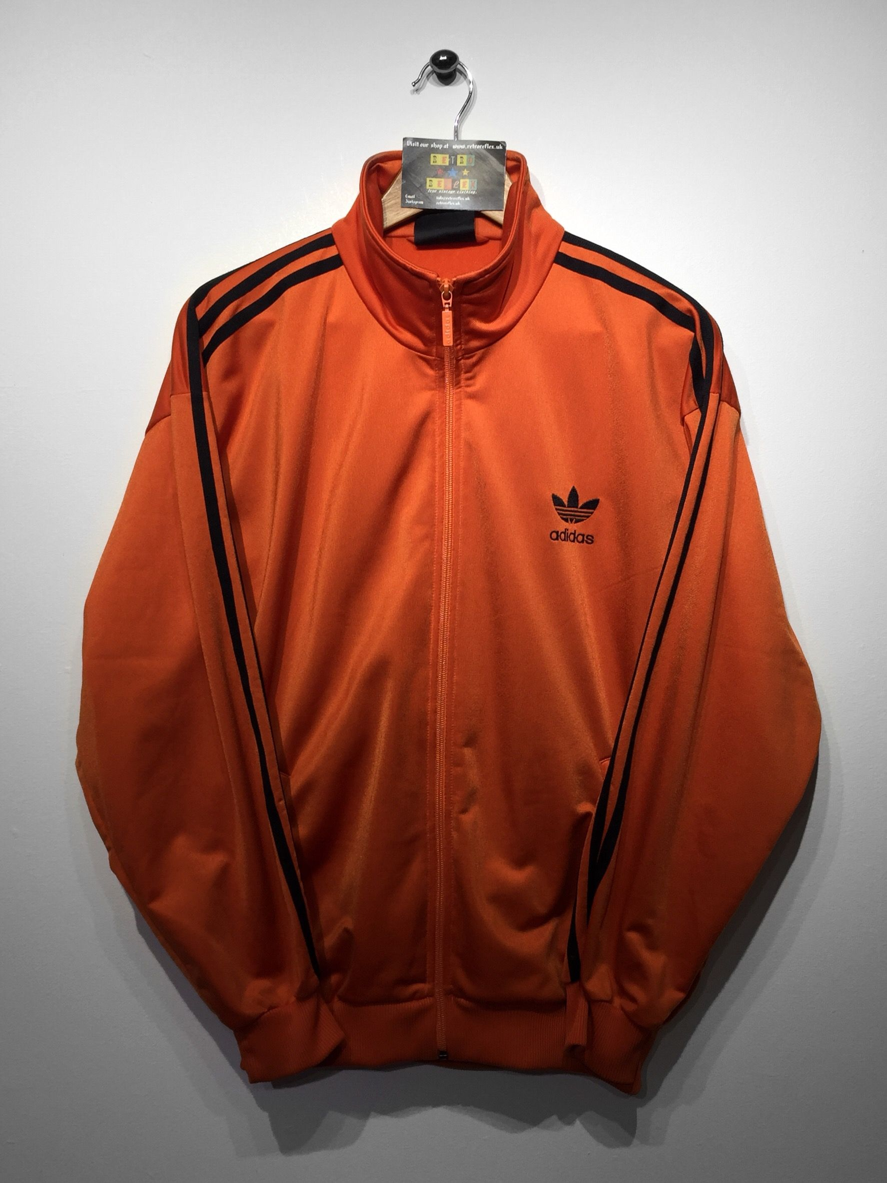 Adidas track jacket size Small (but Fits Oversized) £34