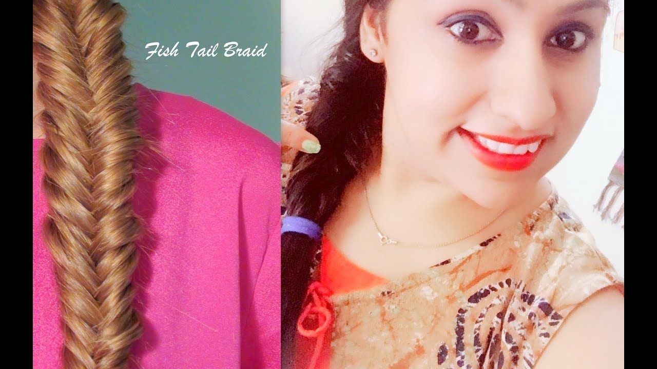 How To Everyday Fishtail Braid Braid Tutorials Khajuri Choti