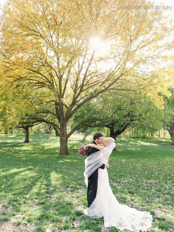 Inn at Irwin Gardens Wedding in Columbus Indiana Wedding