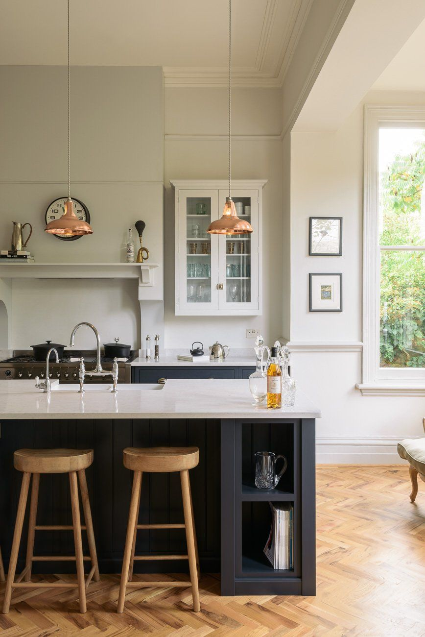Bon Copper Coolicon Pendant Lights In Contemporary Kitchen By DeVol | Artifact  Lighting