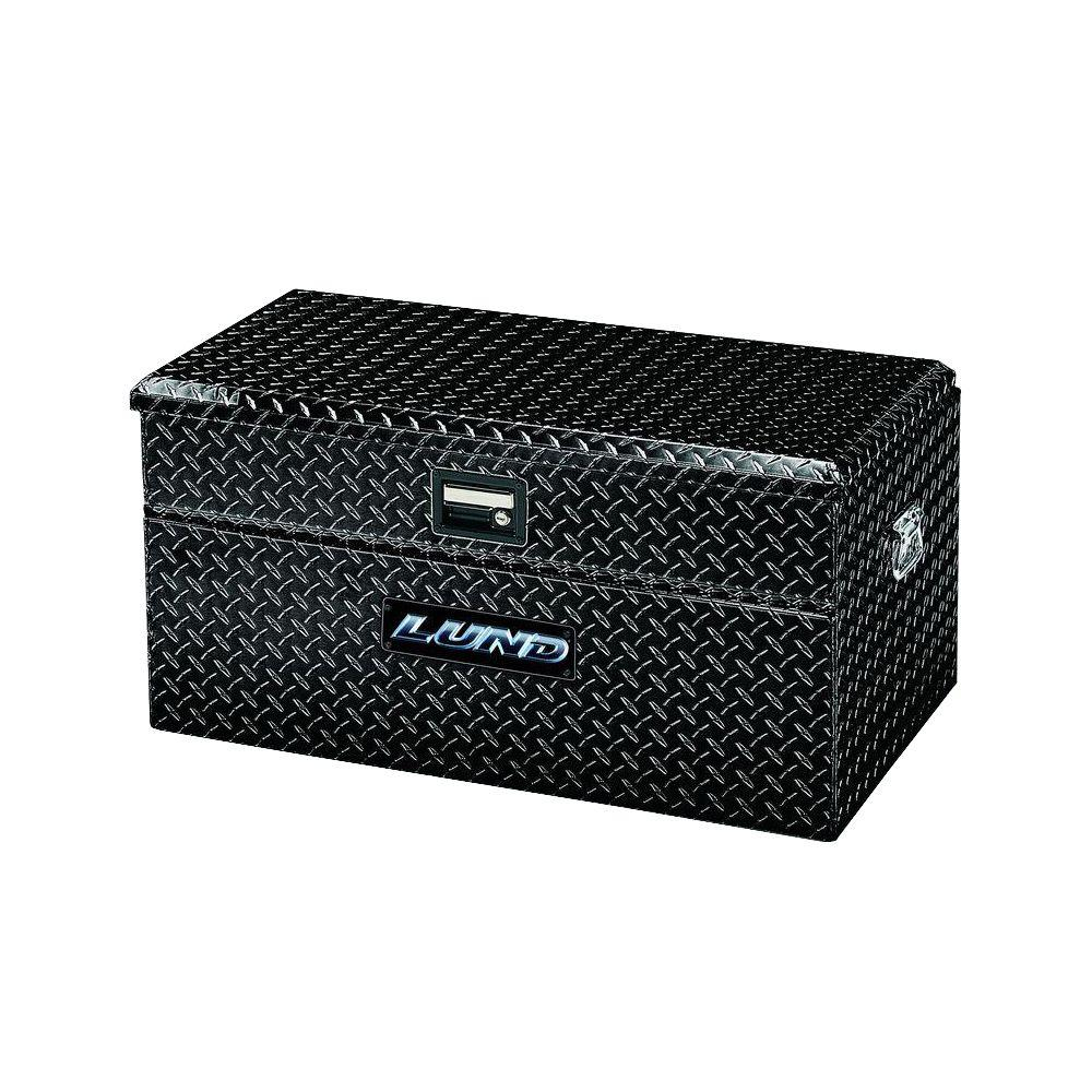 Lund 36 75 In Gloss Black Aluminum Full Size Chest Truck Tool Box 79436wb Truck Tool Box Truck Tools Tool Box
