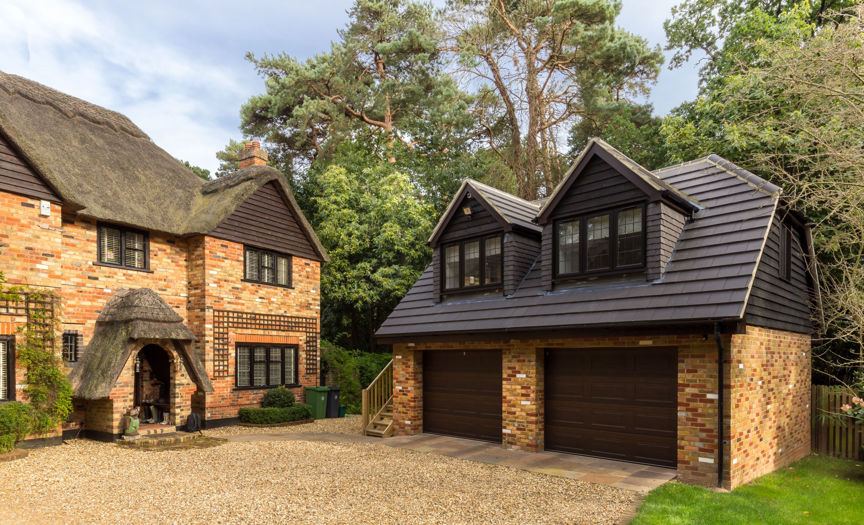 Best Traditional Double Garage With Room In Loft Space 400 x 300