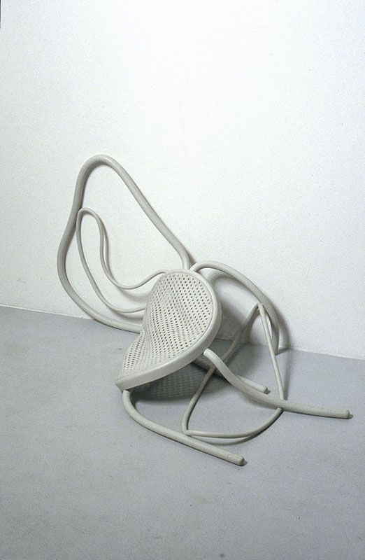 Loris Cecchini - Stage evidence (untitled), 2001 - urethane rubber!