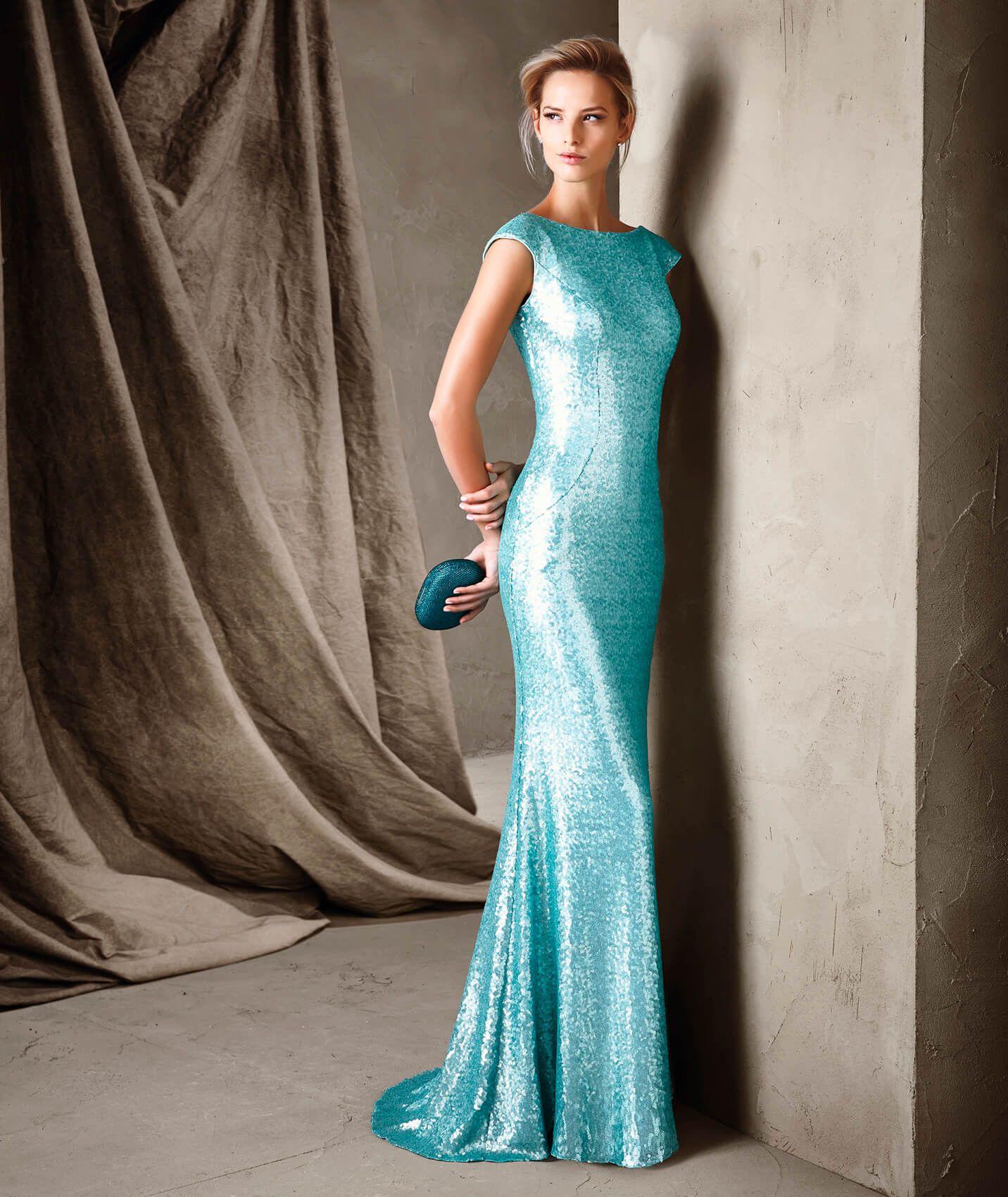 CIELO - Vestidos de fiesta con estilo sirena Pronovias | vestidos ...