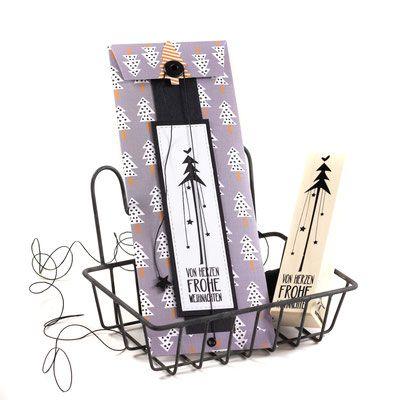 Konzertkarten-Hülle - leine-design #konzertkartenverpacken