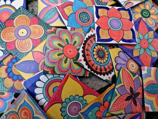 Azulejos artesanales elaborados y decorados a mano un oficio hist rico renaciendo para - Azulejos artesanales ...