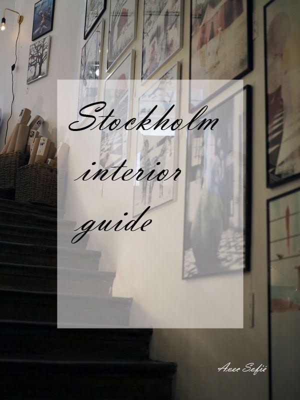 Avec Sofié blog/ Stockholm Interior guide
