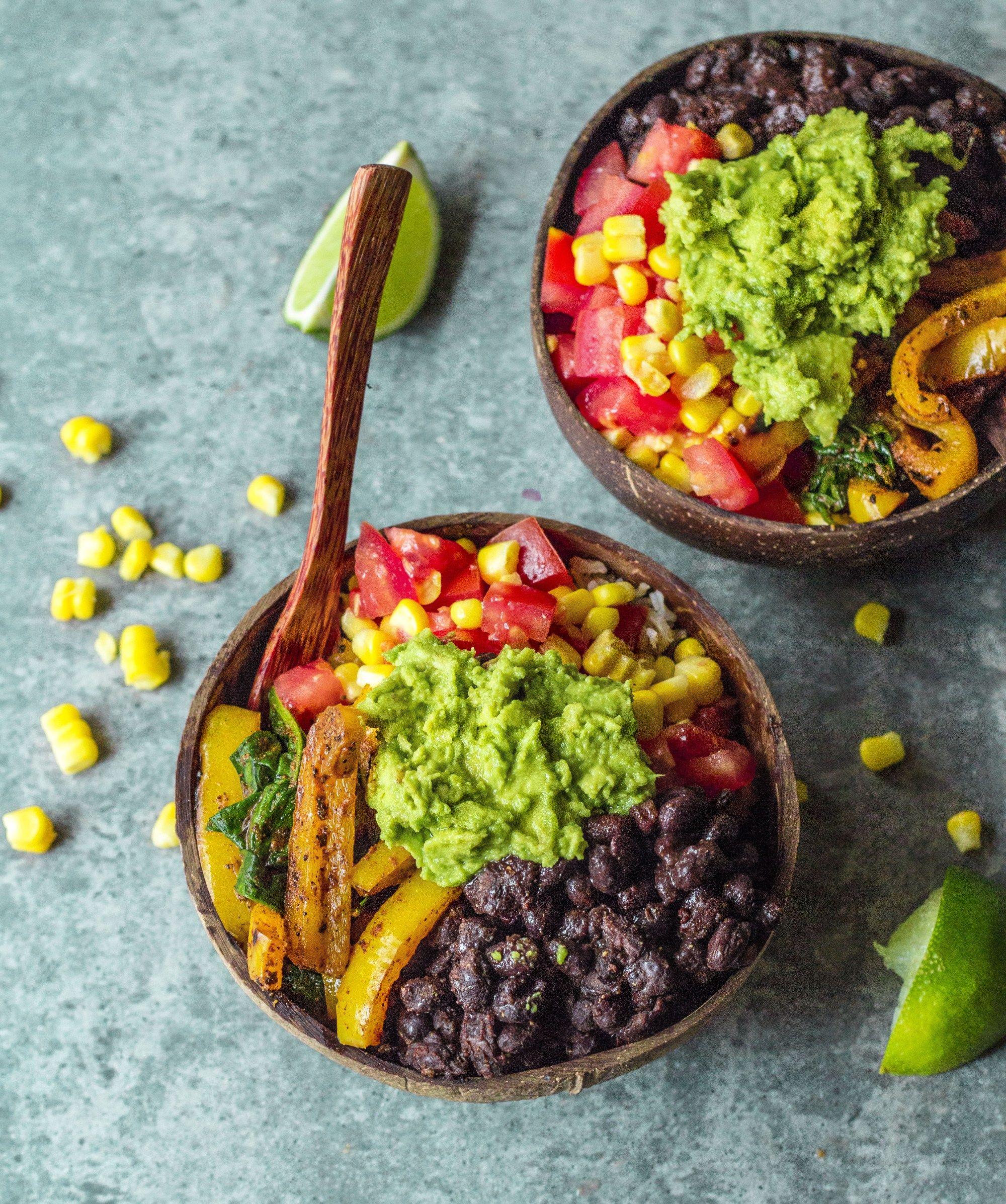 Mexican nourish bowls Mexican food recipes, Vegetarian