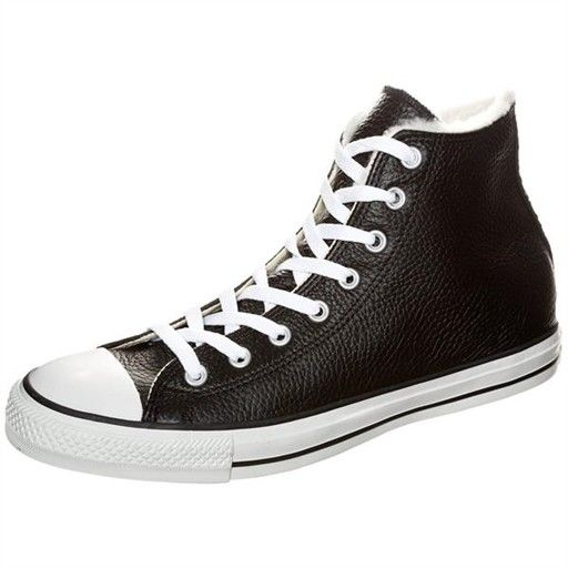 converse ct all star shearling hi noir, chaussures homme converse f61conv050