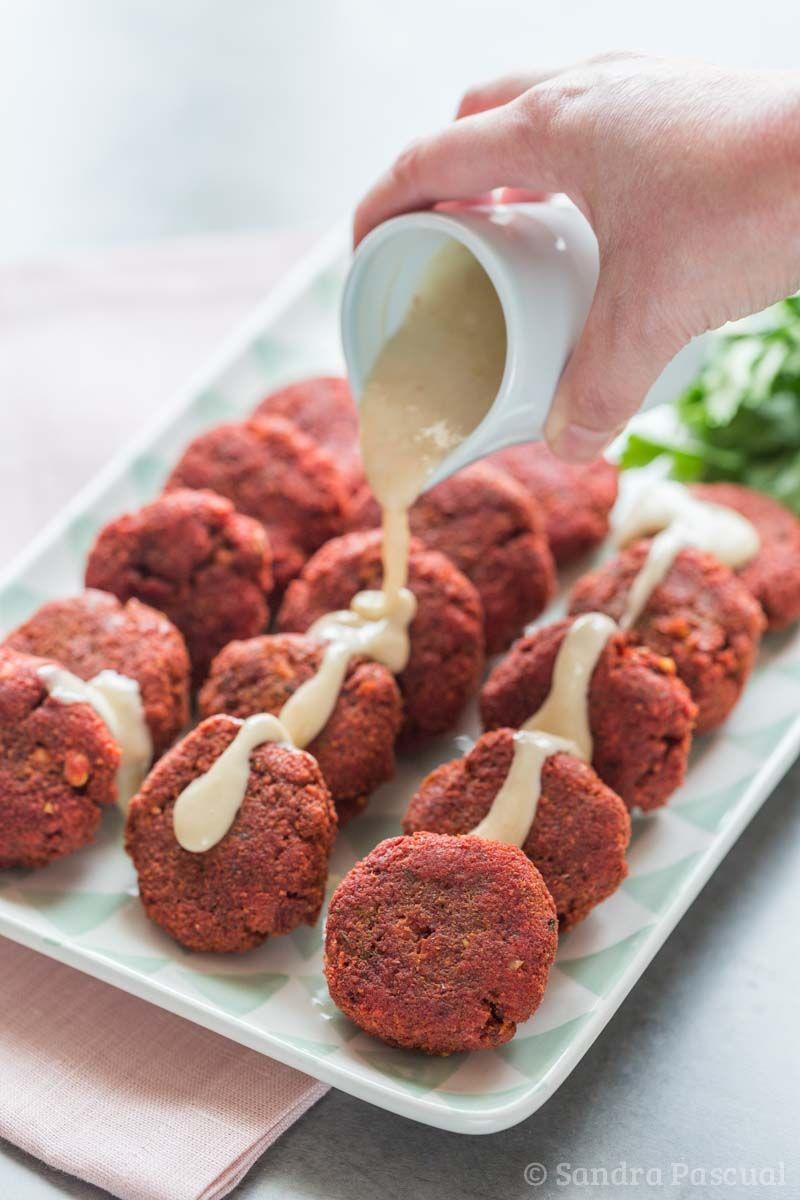 Falafels à La Betterave Recette Recettes Cuisines Et Apéro - Cuisiner la betterave