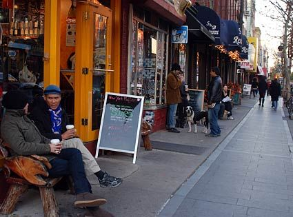 Down by the hipster    Bedford Ave  Williamsburg    Places