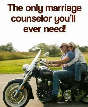 Riding Therapy Funny Motorcycle Meme Motorcycles Bikers Couple Marriage Therapy Auto Salvage Motorcycle Memes Biker Love Motorcycle Quotes