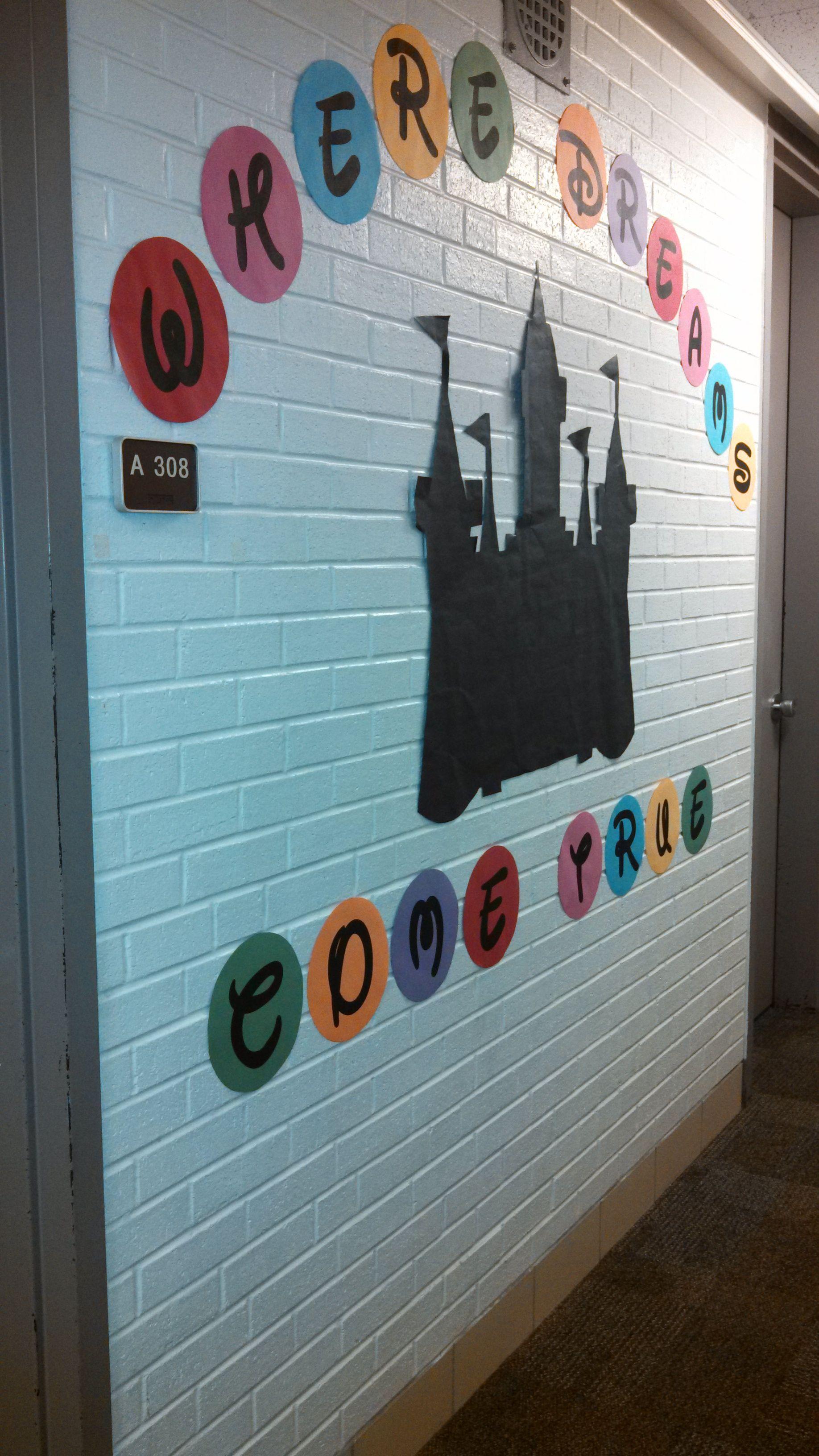Wall Decor College Life Resident Advisor Disney