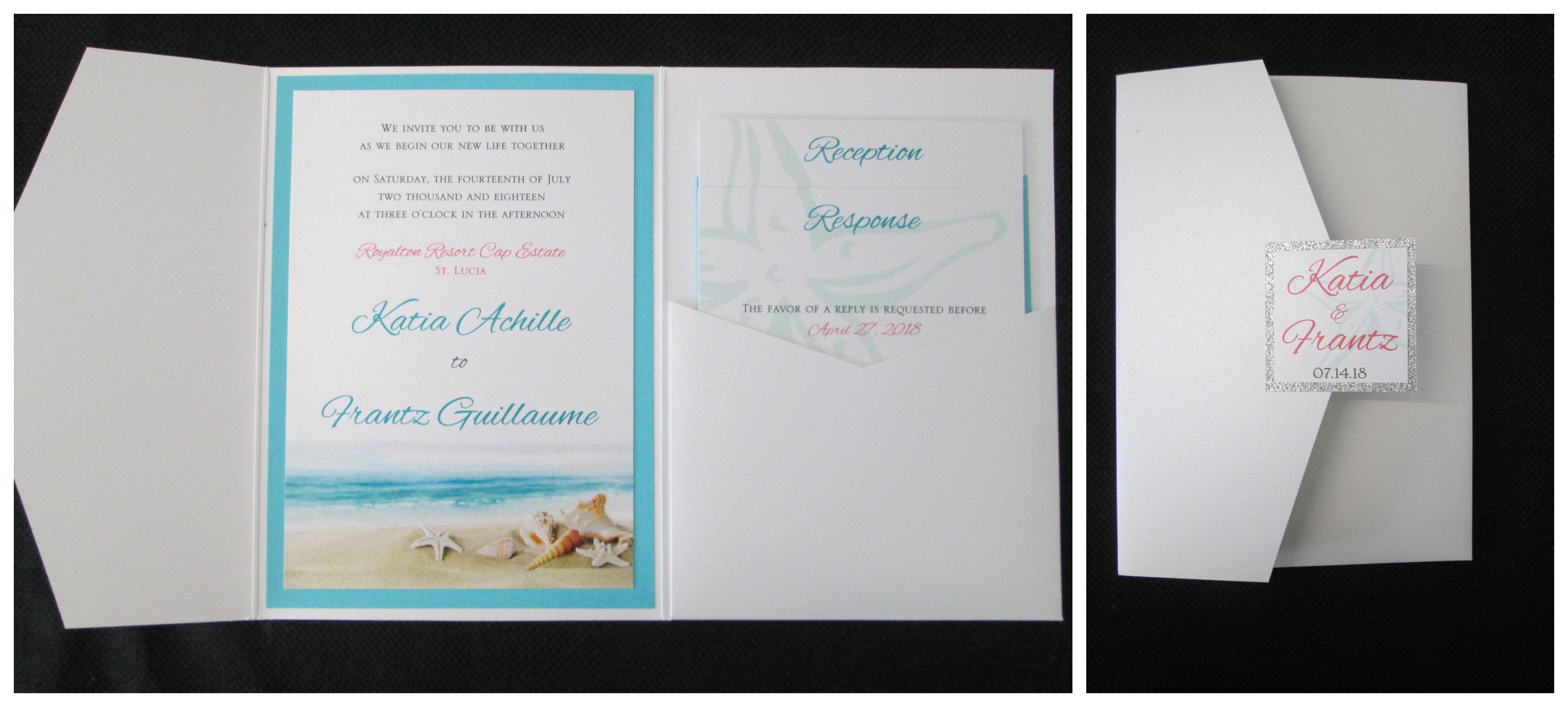Nautical Themed Pocket Invitations: Nautical Wedding Pocket Invitations At Reisefeber.org