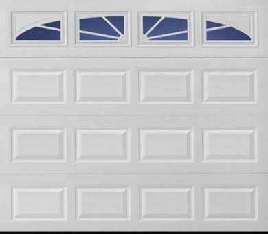 Amarr Stratford Short Panel Sunray Sp27 8x7 Garage Door