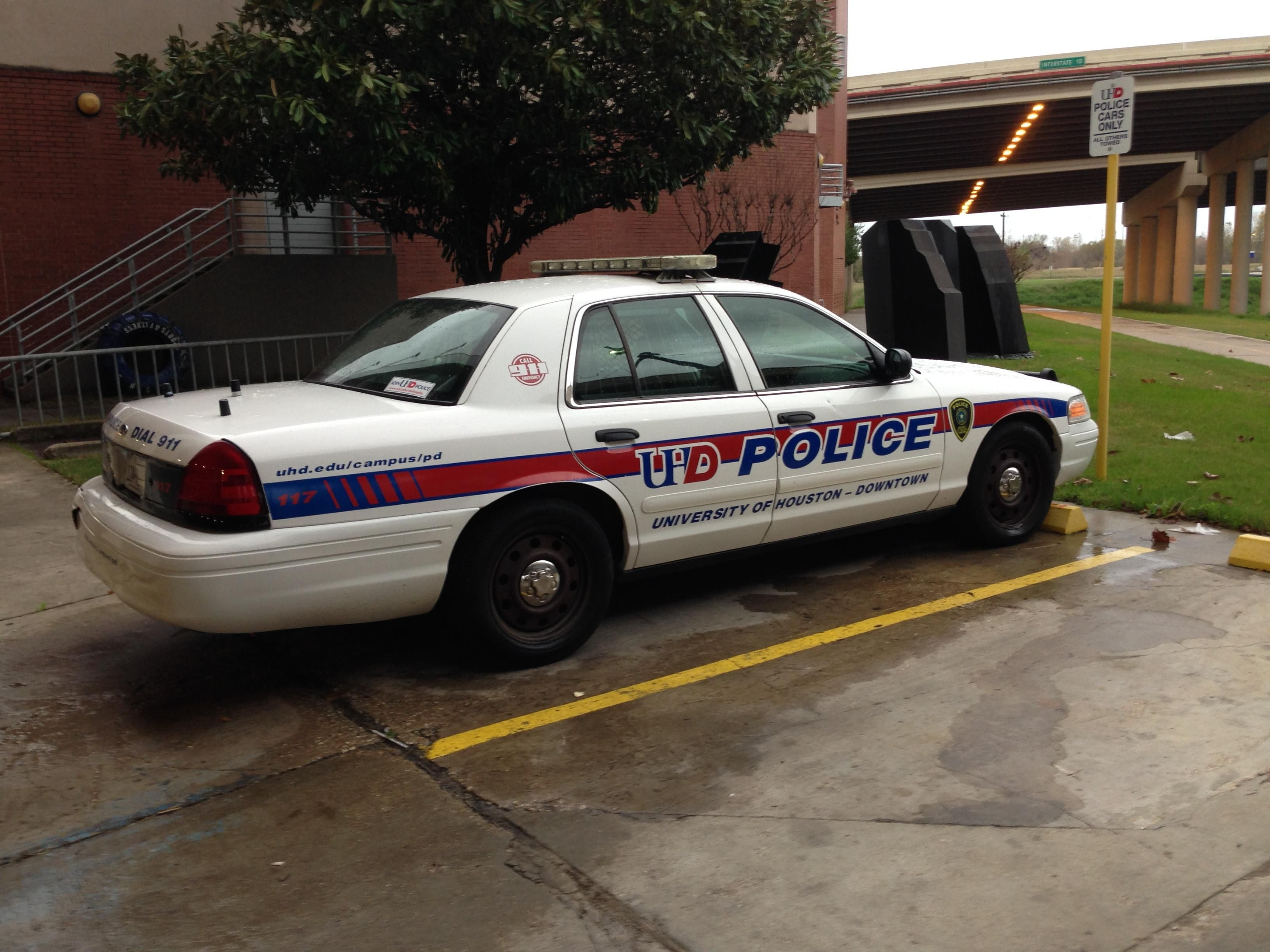 University of houston downtown ford crown victoria