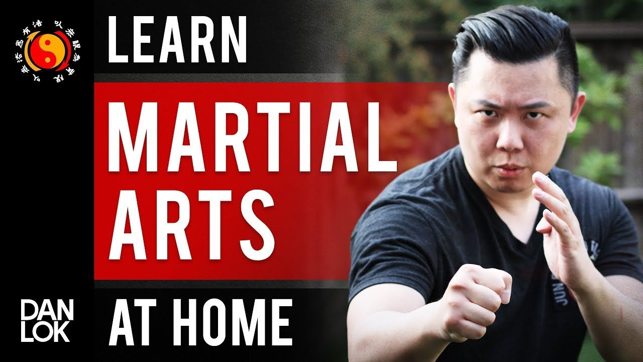 How you can learn martial arts at home by yourself