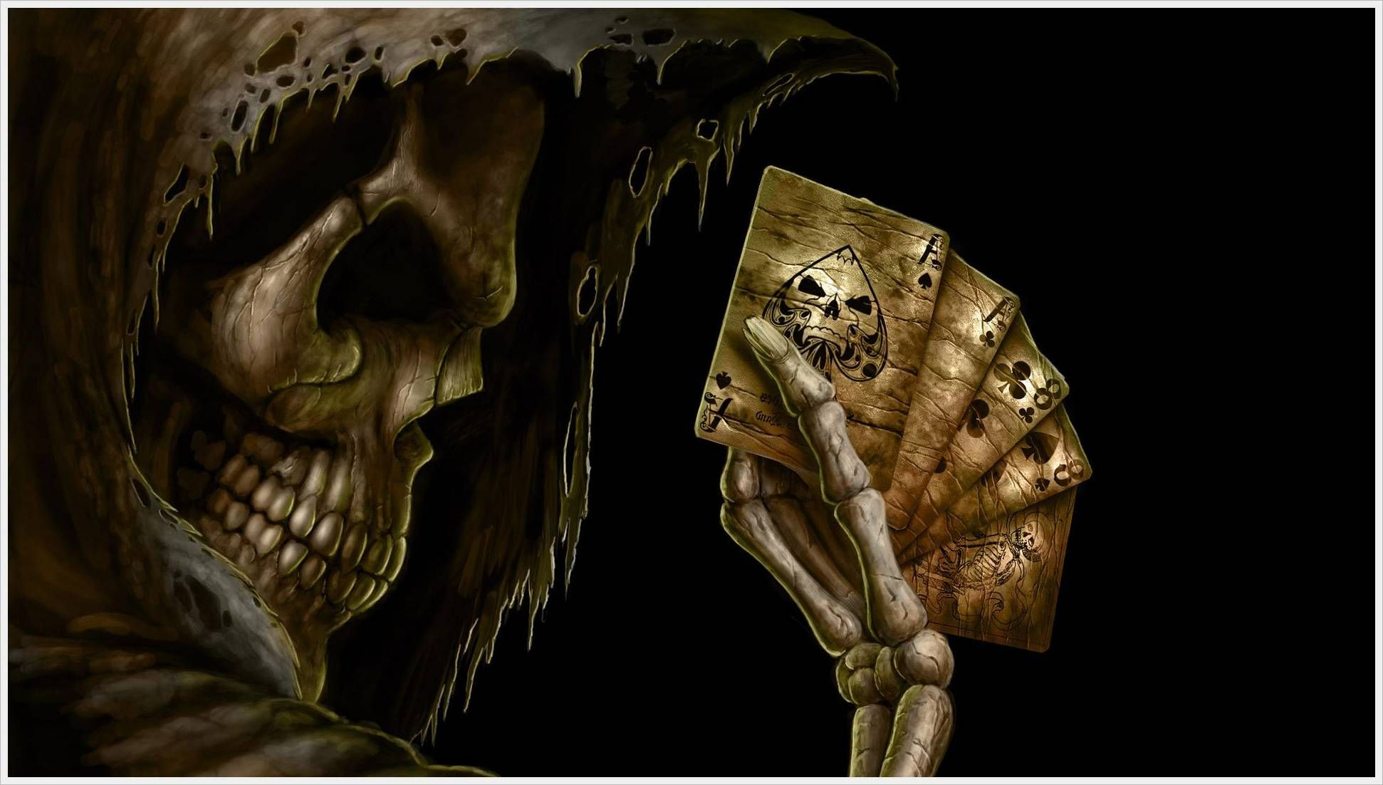 3d moving wallpaper animated horror skull 540x306 - Scary animated backgrounds ...