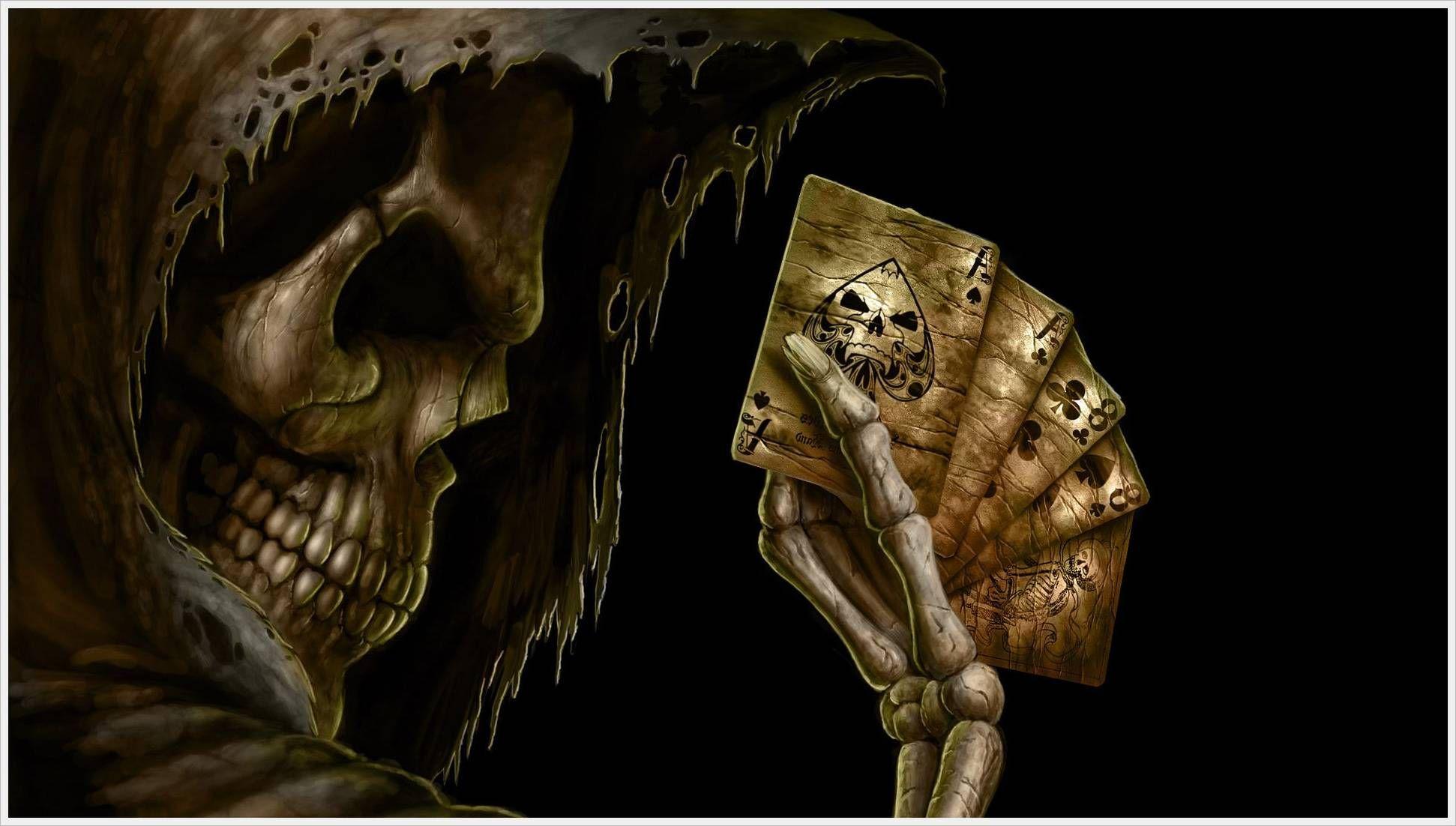 3D Moving Wallpaper Animated Horror Skull 540x306 Animated