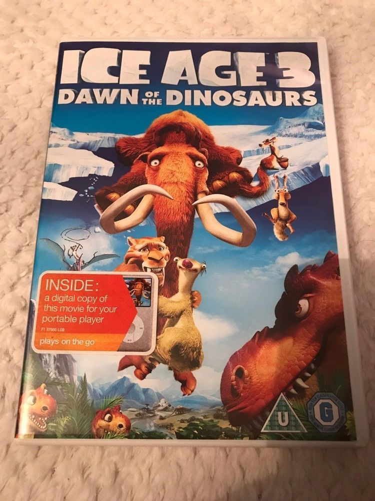 Only 1 79 Ice Age Dawn Of The Dinosaurs Dvd 2009 Carlos Saldanha Dinosaur Dvd Dinosaur Ice Age