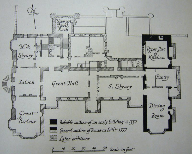 Parham Park Floorplan Unique House Plans House Plans Uk Castle