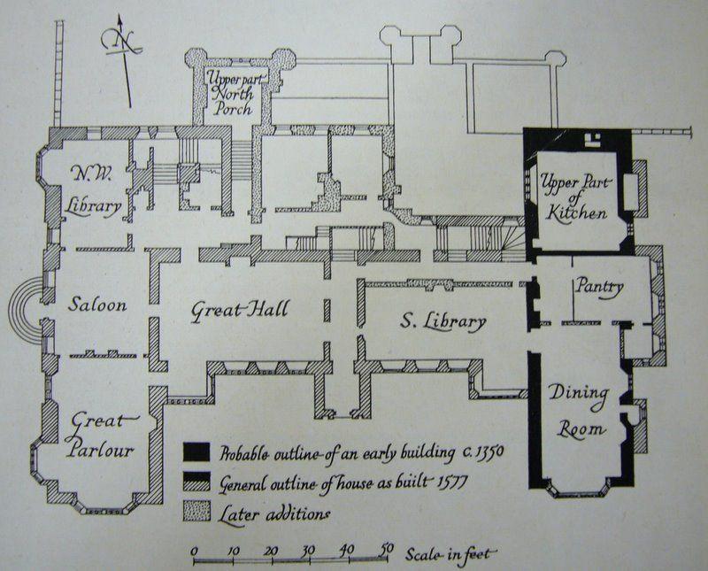 Parham Paln1 Jpg 800 645 Castle Floor Plan House Plans Uk Country House Floor Plan