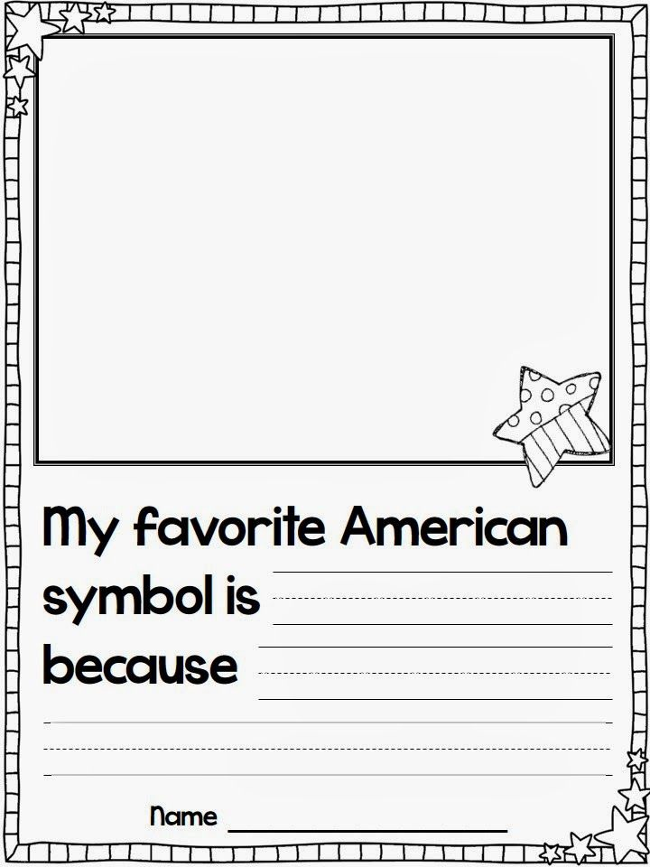 Printables American Symbols Worksheet i put this symbol page together for us to do after we had be love the flying into first and dont forget brainpop