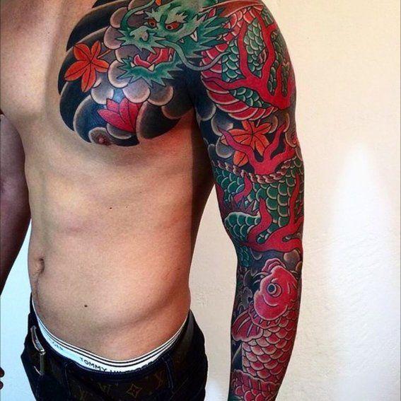 Disenos De Tatuajes Japoneses 4 Tatuajes Japoneses Disenos De Tatuaje Japones Tatuajes De Dragones Japoneses
