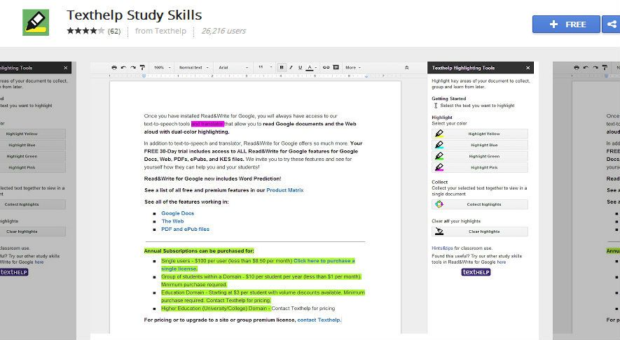 Texthelp Is The Highlighting Tool For Your Google Documents