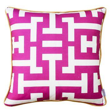 Fab.com | Breeze Pillow Cover 18x18 Mesa