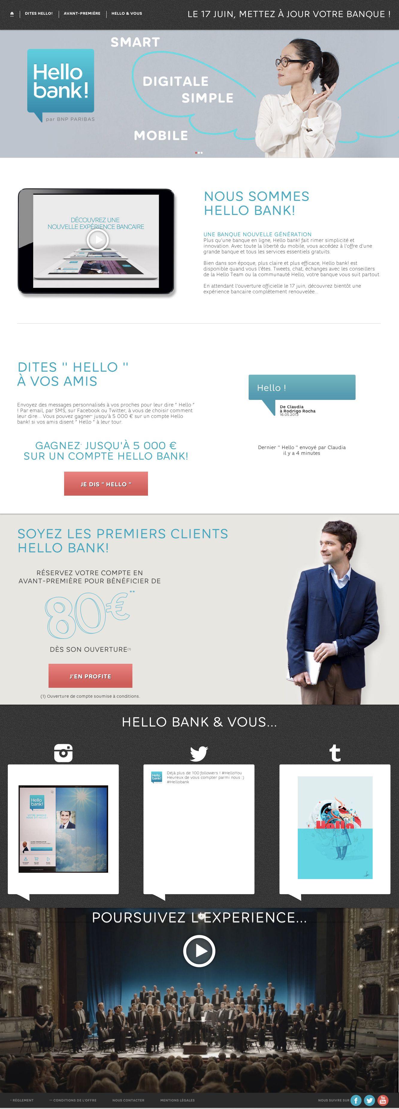 Hello Bank Votre Banque En Ligne Nouvelle Generation Paribas Banque Mobile