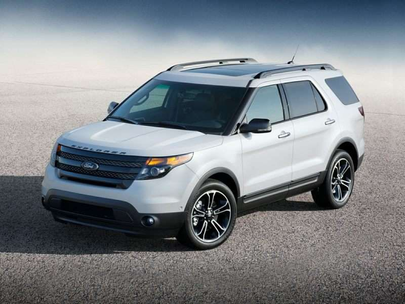 10 7 Passenger Cars With Good Gas Mileage 2013 Ford Explorer