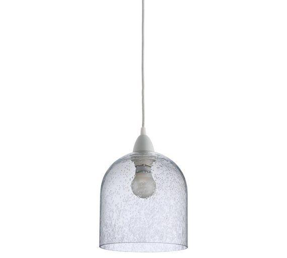 Buy habitat liv bubble glass pendant lampshade at argos co uk your online