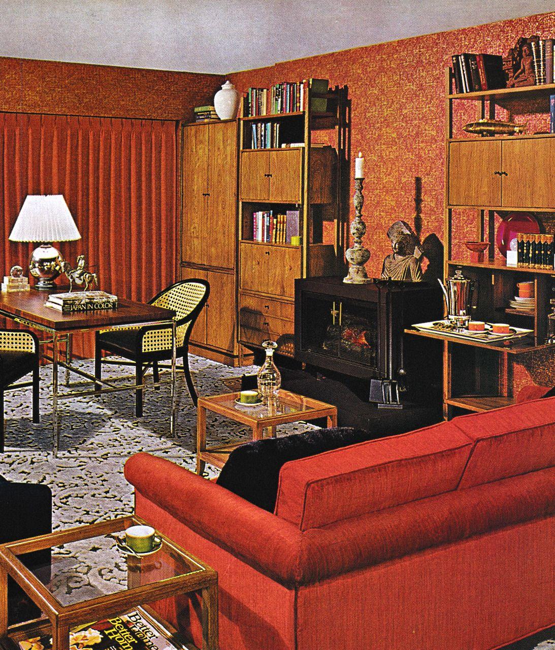 Thegikitiki 1970s Family Room Retro Home Decor Retro Home 70s Home Decor