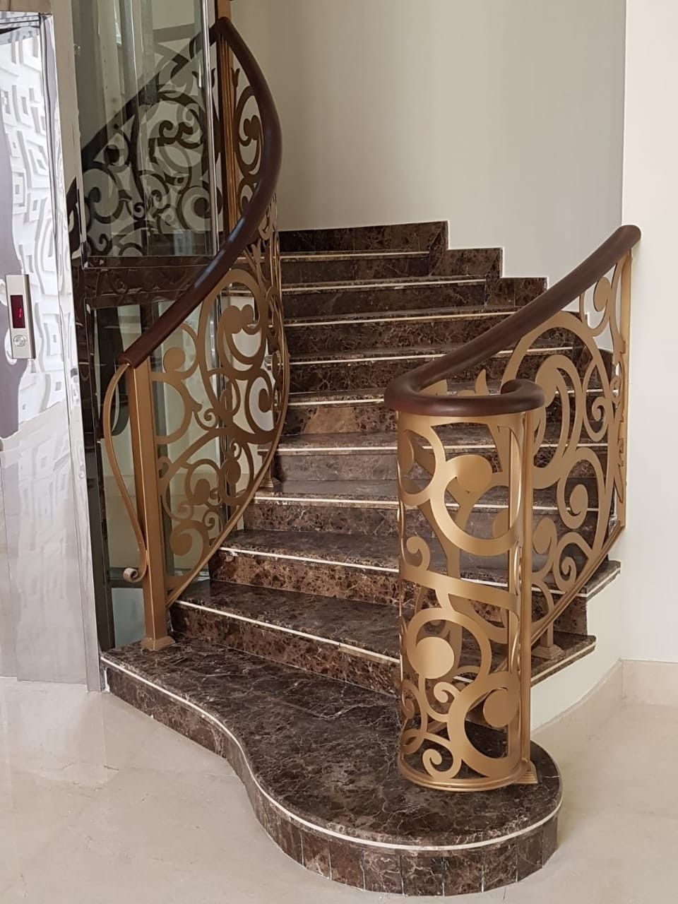 Saudiarabia Riyadh Doors Gates Design Cnc Lifestyle Modern Cadd Beautiful Metaldoo Unique House Design Staircase Railing Design Stair Railing Design