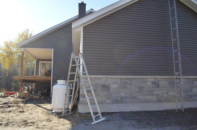 Mitten Vinyl Siding Rockaway Grey Vinyl Siding House Grey Siding House Vinyl House