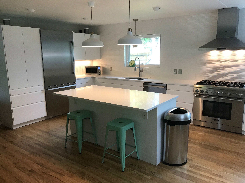 A Flintstones Kitchen Gets a Jetsons Update with IKEA