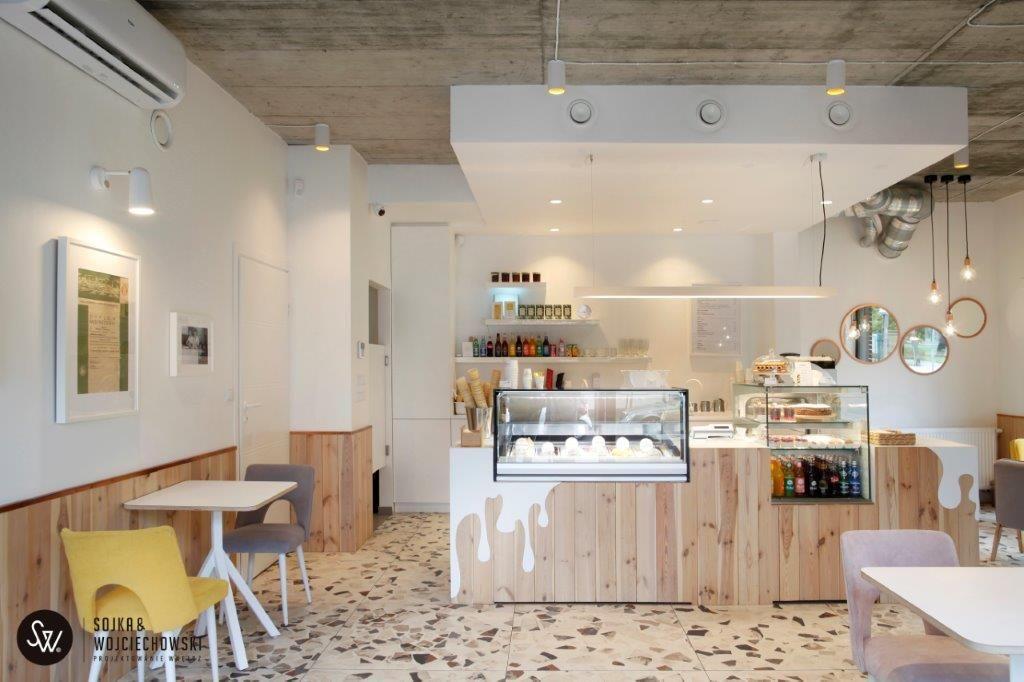 Smietankowe Cafe Bajeczna Lodziarnia Proj Sojka Wojciechowski Ih Internity Home Home Decor Decor Breakfast Bar