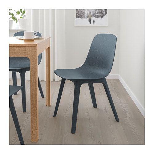 Odger sedia blu nel 2019 soggiorno ikea chair dining for Sedie blu cucina