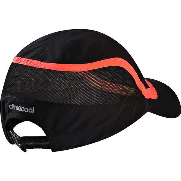 Gorra visera Adidas f50 - negro naranja  59ba81d3518
