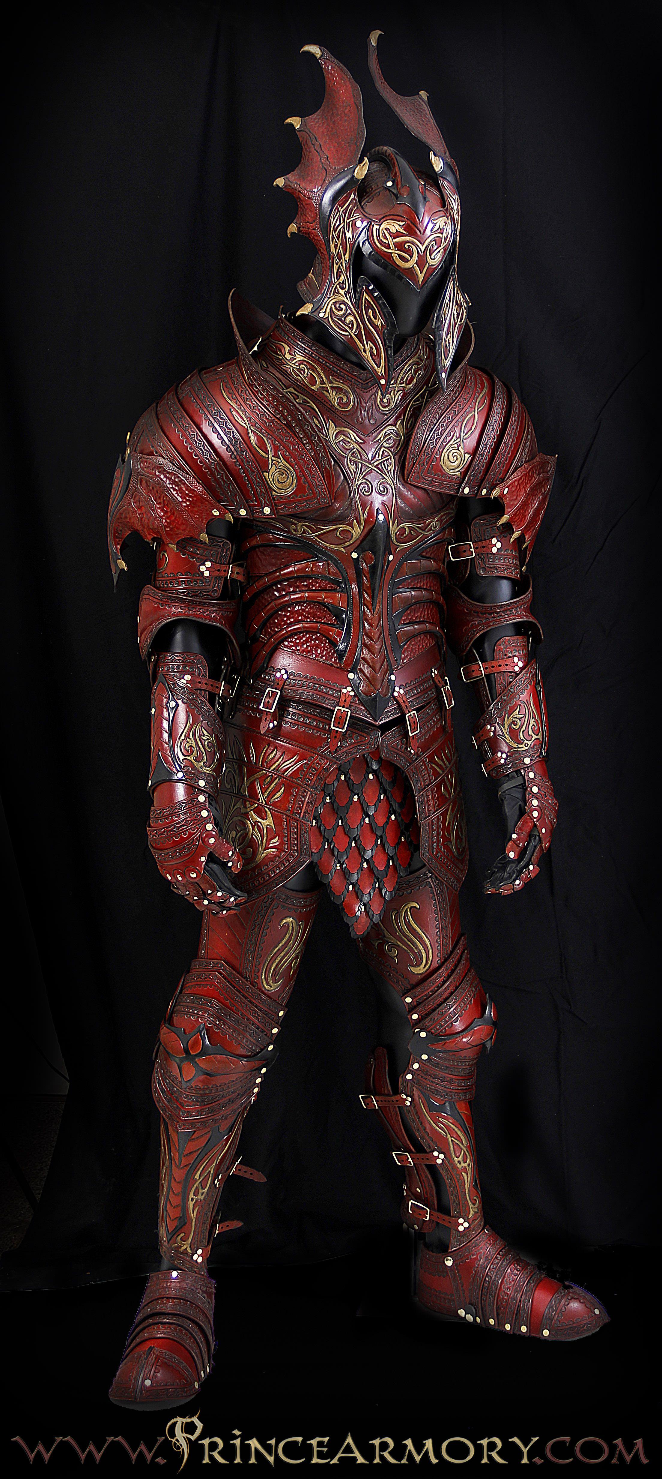 Prince Armory In 2020 Dragon Armor Leather Armor Fantasy Armor Flame dragon armor by azmal on deviantart. pinterest