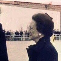 Duchess of Windsor arrives in London for Duke of Windsors funeral