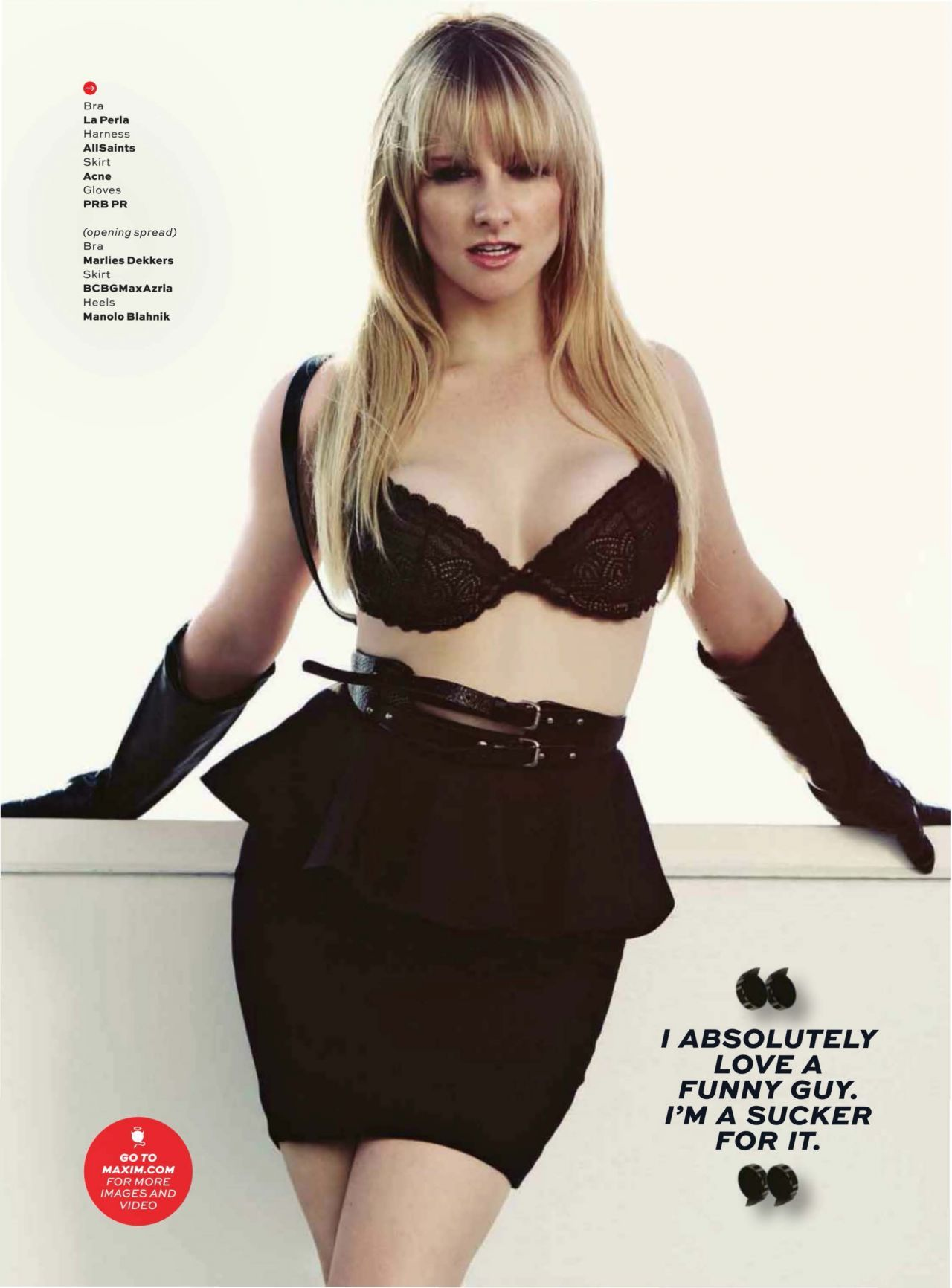 Melissa Rauch Maxim Magazine December 2013 Issue Celebmafia
