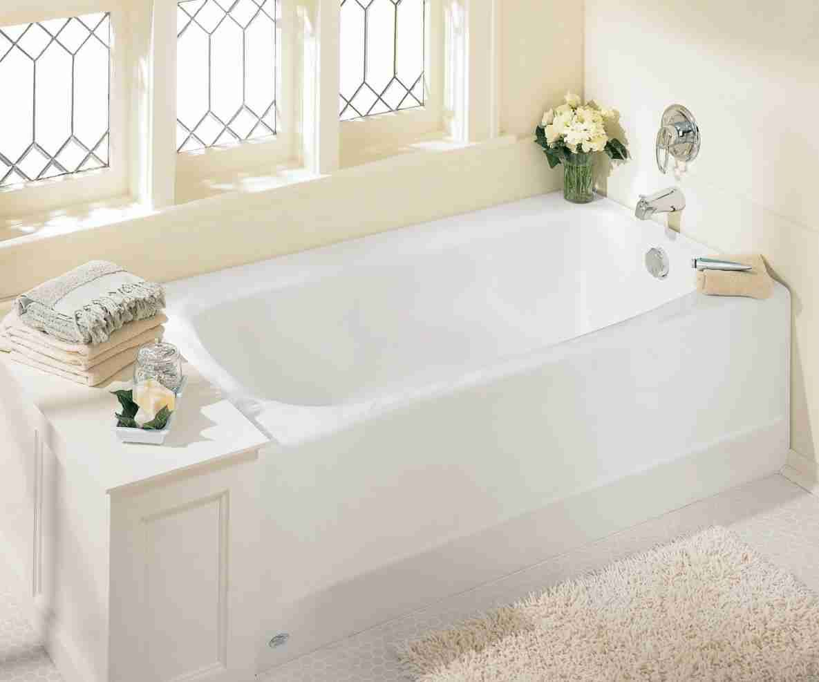 How Long Is A Standard Bathtub With Images Bathtubs For Small