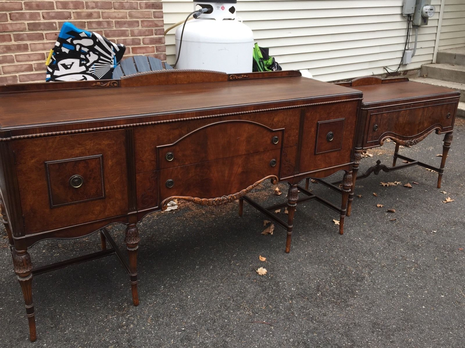 BERKEY GAY ANTIQUE MAHOGANY DETAILED BUFFET SERVER VERY GOOD CONDITION In Antiques BuffetsAntiquesBuffet ServerRoomEbaySideboard