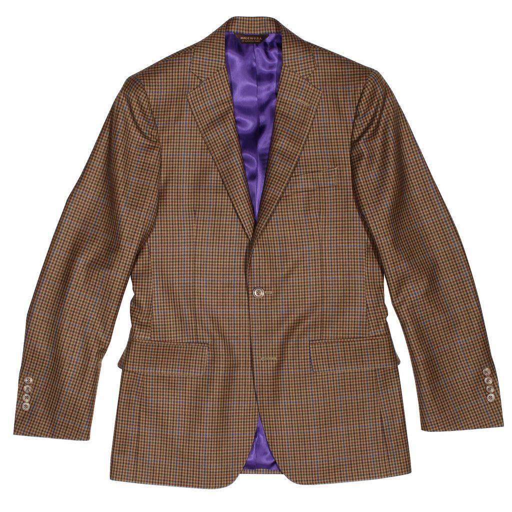 Weller Sportcoat Barberis Camel Guncheck